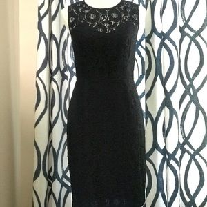 Cynthia Steele Black Dress